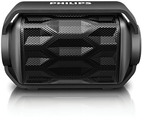 Philips BT2200B/00 Altoparlante Wireless Portatile Bluetooth, Nero