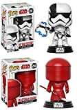 Funko Pop! Star Wars The Last Jedi: Executioner + Praetorian Guard - Stylized Vinyl Bobble-Head Figure Set New