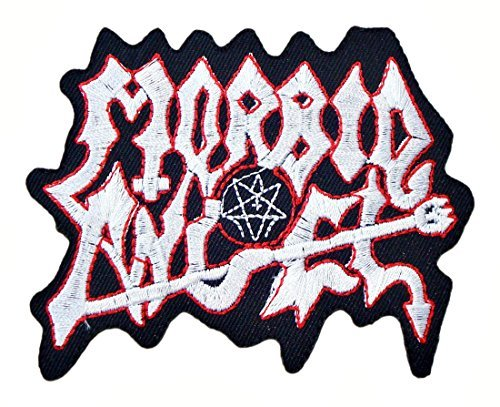 MORBID ANGEL Death Metal Band Logo t Shirts MM51 Embroidered Iron on Patches by MartOnNet Music Patch