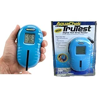 AquaChek TruTest Digital Reader Test Strip Reader - Tests for Chlorine, pH, Total Alkalinity