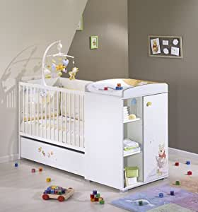 Sauthon on line Winnie DISCOVERY Lit Chambre Transformable- 120 x 60 cm