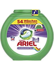 Ariel 3in1 Pods Colorwaschmittel, 54 Waschladungen