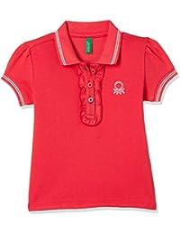 United Colors of Benetton Baby Girl's Plain Regular Fit Polo