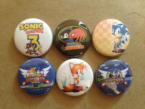 Sonic 1 In Tails (Sonic The Hedgehog lot of 6 1