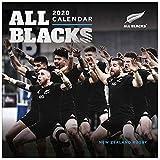 ALL BLACKS Calendrier Officiel de Rugby de Nouvelle-Zélande 2020 (12 Mois et 305 mm x 305 mm)