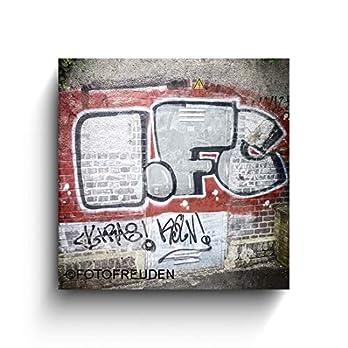 1.FC Graffiti – Köln Bilder – Foto auf Holz – Handmade – verschiedene Größen