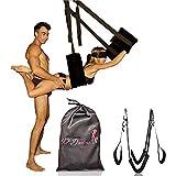 HOT DREAMS Premium Liebesschaukel für die Decke, Sexschaukel Spezialanfertigung extra robust/breit...