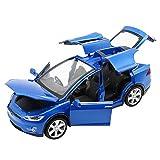 Comtervi Automodell Spielzeugauto Legierung ziehen Autos mit Sound und Licht Kids Toys Maßstab 1:32 zurück