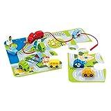 Hape E1022 - City-Spielset, Sortier, Stapel Steckspielzeug