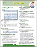 Microsoft Excel 2007 Quick Source Guide by Quick Source (2007) Pamphlet