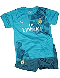 Kit Real Madrid Oficial Tercera Equipación (Camiseta y Pantalón) Dorsal Ronaldo ...