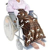 Winter Home doppelseitige verdickte ältere Knie warm Decke - halbe Knie-Pad-Decke - mit zurück Schnalle und Tasche... preisvergleich bei billige-tabletten.eu