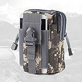 RUHRBASIS Smartphone Handy Outdoor Hüfttasche Gürteltasche Tasche Bauchtasche Wasserfest für Motorola | Lenovo Moto | G3 | G4 | G5 | Plus | Camping Wandern Sport Reise Urlaub Camouflage