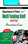 For aspiring candidates who are preparing to secure a job with the Department of Post by competing at the Multi Tasking Staff recruitment examination this 2016 edition of Department of Posts-Multi Tasking Staff (MTS) Exam has been complied with comp...