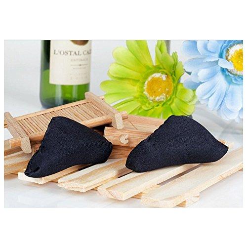 spritech (TM) 3Paar Damen Soft Schwamm vorne Innensohle Schuh Pad atmungsaktiv saugfähig Kissen für hochhackige Schuhe Sandale (Print-innensohle)