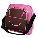 #5: Urban Kings multi-function baby booster seat,baby diaper bag, mummy bag (PINK)