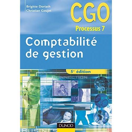Comptabilité de gestion - 5ème édition - Manuel