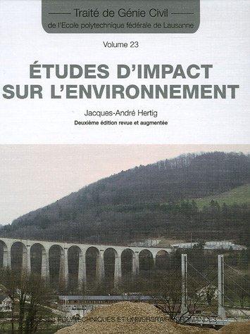 Etudes d'impact sur l'environnement
