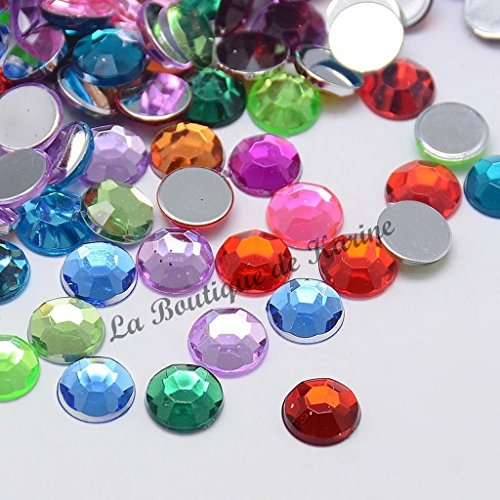 lot-de-40-perles-strass-rond-a-coller-acrylique-multicolore-8-mm-livraison-gratuite-creation-bijoux-