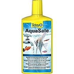 Tetra AquaSafe , Purificador de agua para peces de acuario, 500 ml
