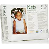 Naty by Nature Babycare Size 5 ECO Pull On Pants - 4 x Packs of 20 (80 Count)