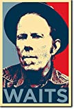 Tom Waits Art Print 'Hope' - 12x8 High Quality Photographic Poster - Unique Gift