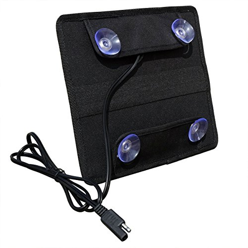Eco worthy 5w 12v caricatore caricabatterie solare di for Porta batteria 9v
