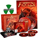 ACCEPT, Blind rage MAILORDER EDITION - CD-Boxset