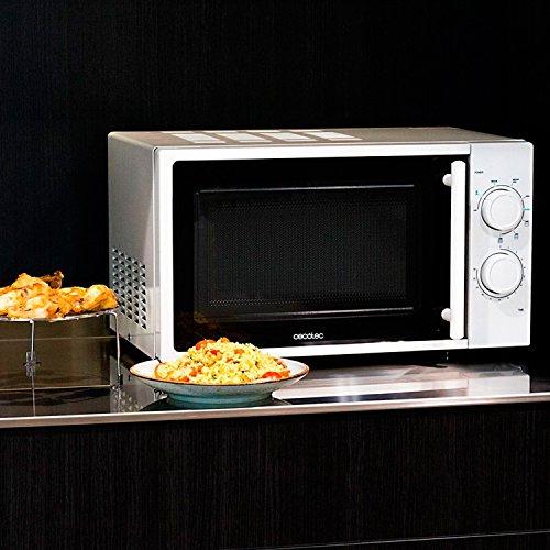 confronta il prezzo Forno a Microonde bianco con grill, input 1200 W, output 700W, grill da 900W, 20 l, 9 livelli, Cecotec Grill miglior prezzo