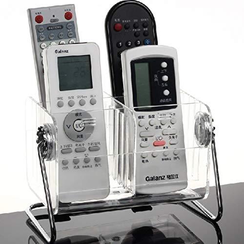 HQdeal - Soporte de escritorio para mando a distancia (capacidad hasta 6mandos a distancia), color transparente