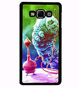 Aart Designer Luxurious Back Covers for Samsung Galaxy A7 + 3D F2 Screen Magnifier + 3D Video Screen Amplifier Eyes Protection Enlarged Expander by Aart Store.
