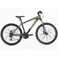 Acciaio Mountain Bike Sospensione Anteriore 69,8cm, T16B21127.5 Gray, Grey, 27.5