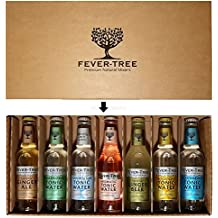 Fever-Tree Original Tonic Water Probierset - Elderflower- ,Naturally Light-, Aromatic-, Mediterranean-, Premium Tonic Water + Ginger Ale + Ginger Beer - je 200ml