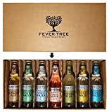 Fever-Tree Original Tonic Water Probierset - Elderflower-,Naturally Light-, Aromatic-, Mediterranean-, Premium Tonic Water + Ginger Ale + Ginger Beer - je 200ml Test