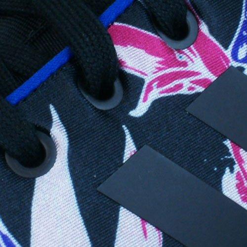 Adidas Zx Flux Nps, Zapatillas Da Donna Negro Azul Amarillo