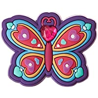 Crocs Rhinestone Butterfly Shoe Decoration Charms, Multicolour (-), One Size