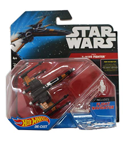 Hot Wheels, Star Wars: The Force Awakens Poe's X-Wing Fighter Die-Cast Vehicle by Mattel