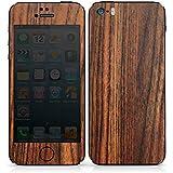 Apple iPhone SE Case Skin Sticker aus Vinyl-Folie Aufkleber Kirschbaum Holz Look