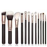 YanHoo Bürste 12 STÜCKE Make-Up Pinsel Kosmetik Set Lidschatten Pinsel Rouge Kosmetische Werkzeuge Bürste Trimmer Neu 2018 Pinsel Set