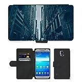 cuero Phone CUBRE case//M00421665via urbano Road Town viaggi//Samsung Galaxy S5S V SV I9600(non compatibile con S5Active)