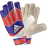adidas Predator Junior Guantes de portero, Infantil, color Night Flash S15/Solar Red/White, tamaño 4