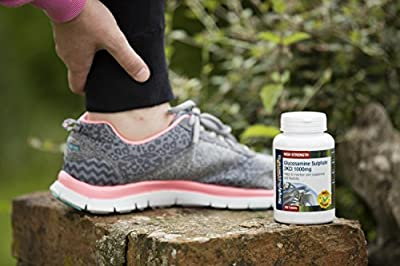 Glucosamine 1000mg 360 Tablets + Marine Chondroitin 750mg 60 Capsules | Perfect Partners for Joint Support | 100% money back guarantee | Manufactured in the UK