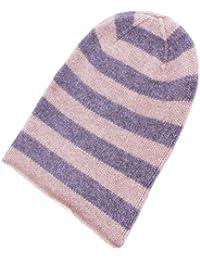 Love Cashmere Berretto in Cashmere a Righe per Uomo (Mens Striped Cashmere  Hat) - 6c3ba15c3b5d