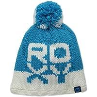Roxy Mütze Fjord Girl - Gorro de esquí para niña, color azul, talla Talla única