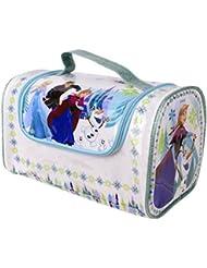 Markwins Disney Frozen Die Eiskönigin große Make-Up Tasche mit Reißverschluss und Schminkset, 1er Pack (1 x 1 Stück)