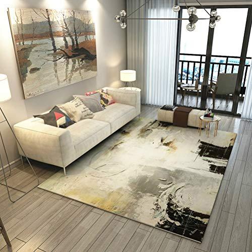 RUG ZI LING Shop- Geometrische Moderne teppiche für Wohnzimmer Home Nordic Nacht Schlafzimmer Decke Bereich Teppich weichen arbeitszimmer Boden Teppich (Farbe : B, größe : 200cmx300cm) -