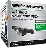 Rameder Pack attelage rotule Standard 2 Trous pour Renault KANGOO/Grand KANGOO +...