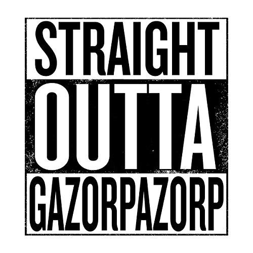 Straight Outta Gazorpazorp Women's Sweatshirt white