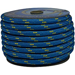 Corderie Italiane 6006558 Treccia Corit, 12 mm-20 MT, Azul