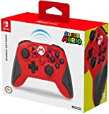 Hori Controller Horipad Wireless (Super Mario) - Ufficiale Nintendo - Nintendo Switch